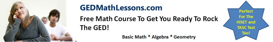 GED Math Lessons